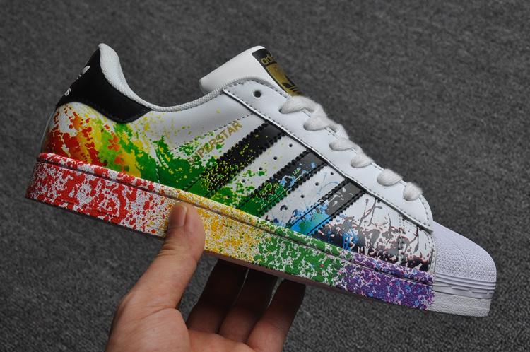 Femme Rainbow Adidas Superstar Superstar Adidas Rainbow W2EDYHeI9b