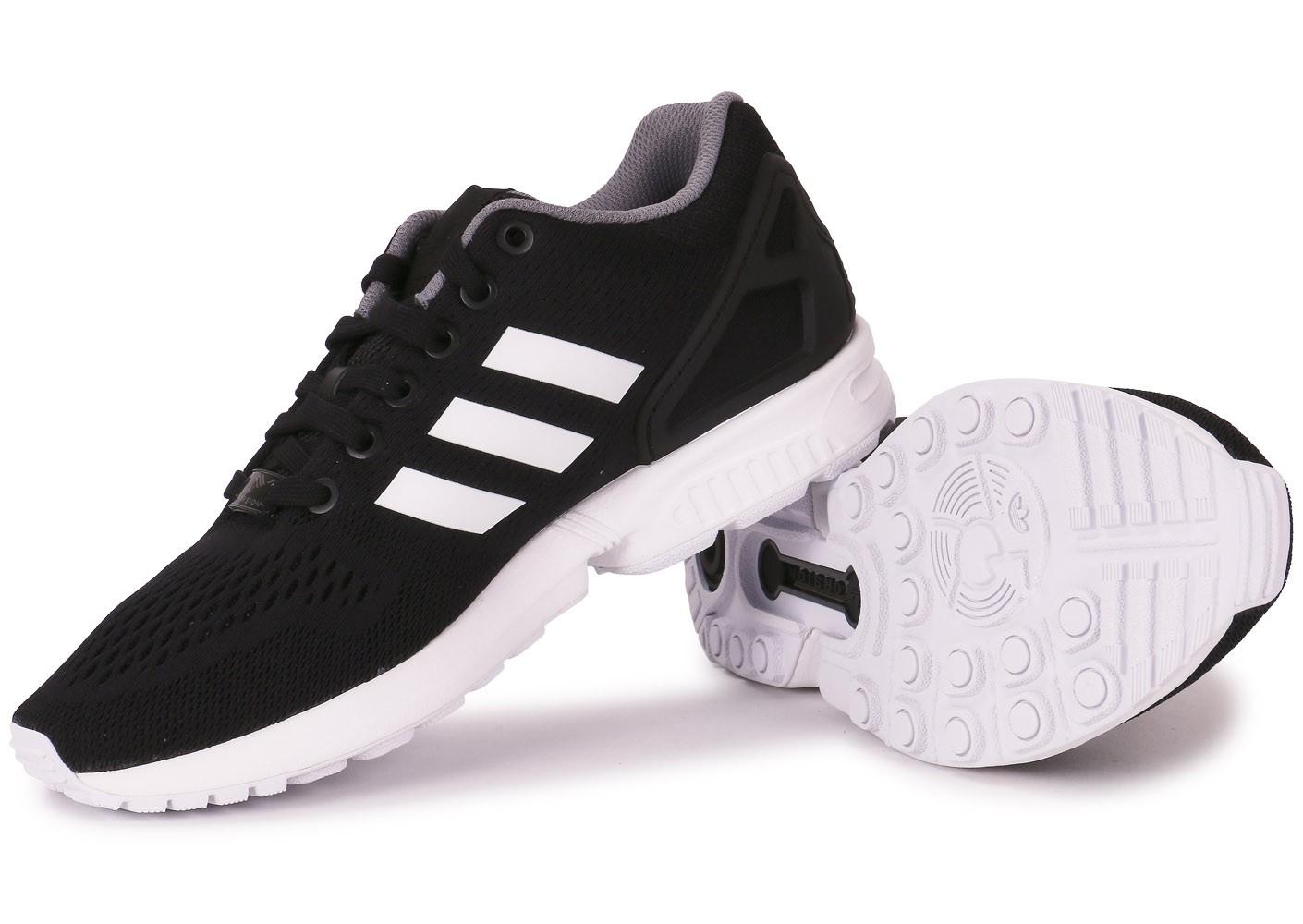 get adidas zx flux noir noir blanc 6b08e 987ab