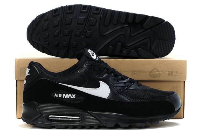 air max 90 noir et blanche
