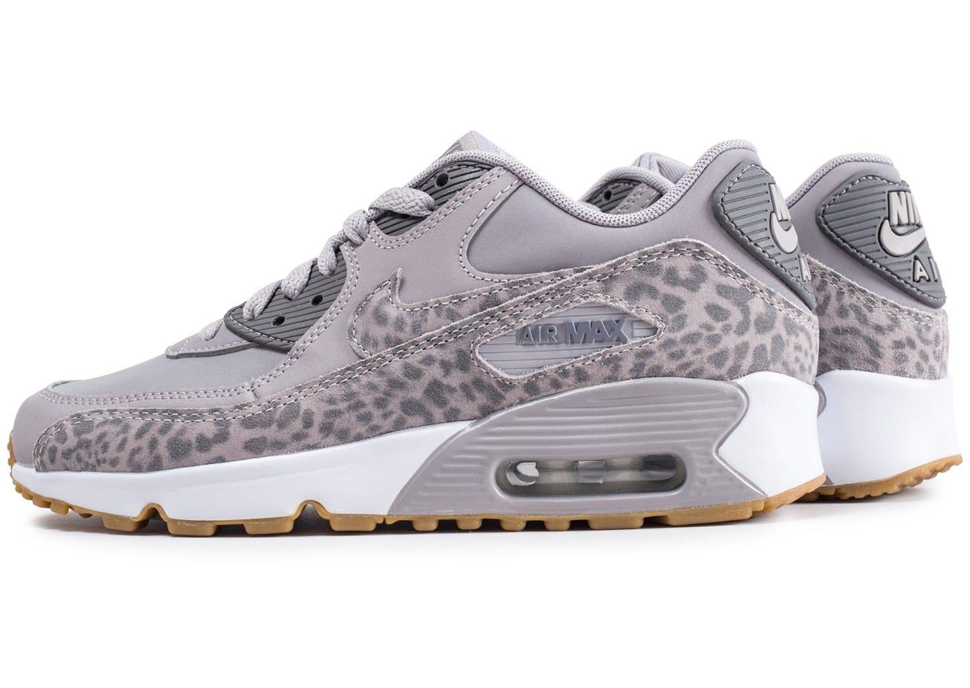 detailed look 2520a 3b59a air max leopard gris
