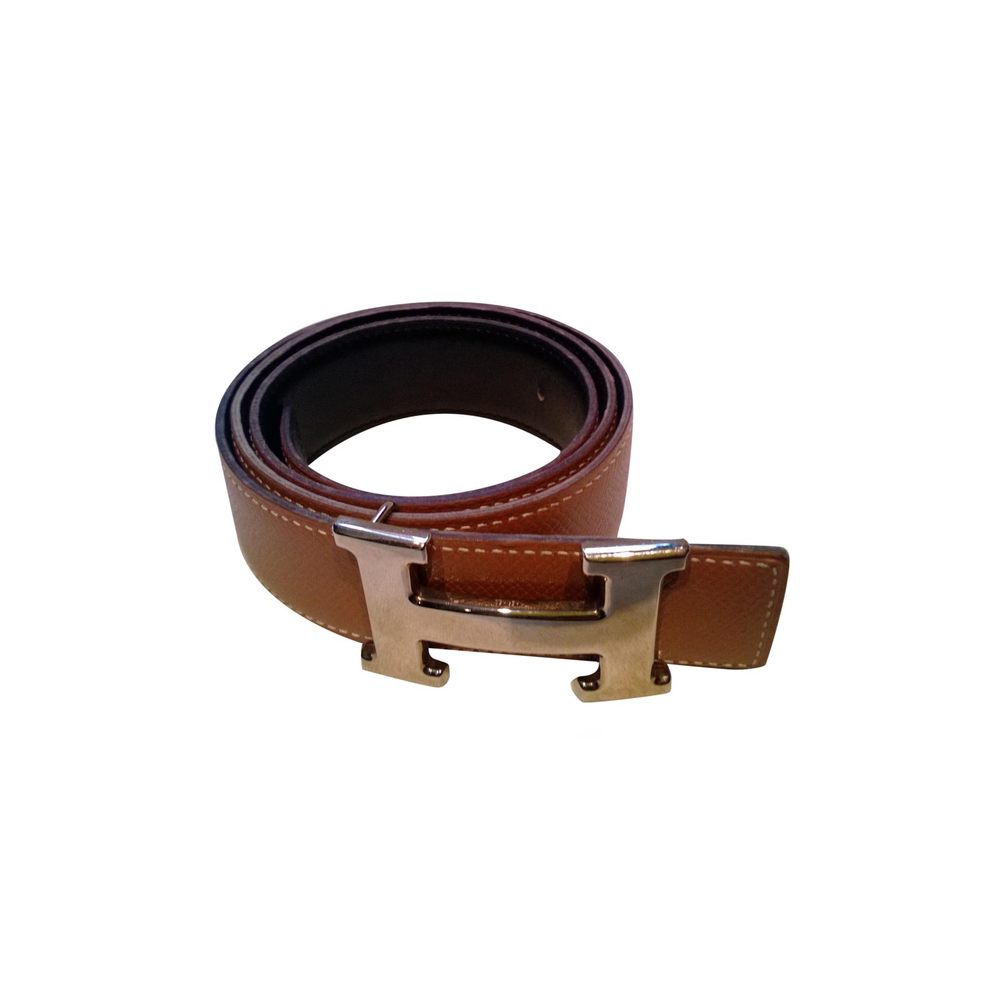6c968129f6 ceinture hermes marron pas cher